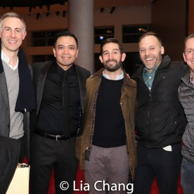 Erik Rose, Jose Llana and guests. Photo by Lia Chang