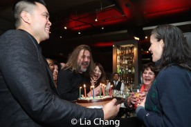 A birthday surprise for music director Kimberly Grigsby. Photo by Lia Chang