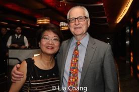 Regina Tolentino Newport and Ian Newport. Photo by Lia Chang