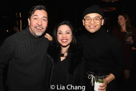 Ali Ewoldt, Jaygee Macapugay, Lia Chang and Garth Kravits. Photo by Lia Chang