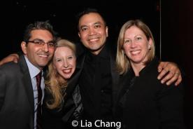 Jose Llana and guests. Photo by Lia Chang
