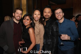 Michael Ross, Renee Albulario, Emily Borromeo, Bill Bustamante. Photo by Lia Chang