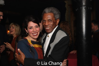Rachel Chavkin and André De Shields. Photo by Lia Chang