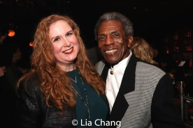 Julie James and André De Shields. Photo by Lia Chang