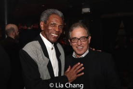 André De Shields and Patrick Pacheco. Photo by Lia Chang