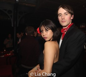 Reeve Carney and Eva Noblezada. Photo by Lia Chang