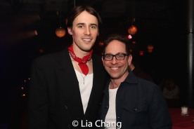 Reeve Carney and Garth Kravits. Photo by Lia Chang