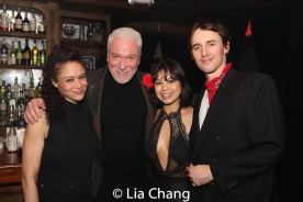 Amber Gray, Patrick Page, Eva Noblezada and Reeve Carney. Photo by Lia Chang