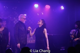 Patrick Page and Amber Gray. Photo by Lia Chang