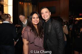 Nicole Ponseca and Jose Llana. Photo by Lia Chang