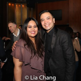 Nicole Ponseca and Jose Llana. Photo by Lia Chang