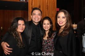 Liz Casasola, Jose Llana, Ali Ewoldt and Jaygee Macapugay. Photo by Lia Chang