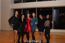 Jaygee Macapugay, Maria-Christina Oliveras, Lia Chang Belinda Allyn, Renee Albulario, Shea Renne. Photo by Jeigh Madjus