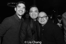 Kevin Schuering, Jose Llana and Brian Jose. Photo by Lia Chang