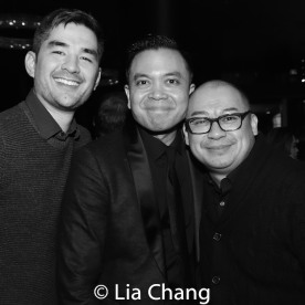 Kevin Schuering, Jose Llana and Brian Jose. Photo by Lia Chang