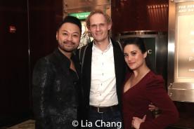 Billy Bustamante, Rogier de Boer and his wife Diane Phelan. Photo by Lia Chang