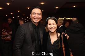 Jose Llana and Shaina Taub. Photo by Lia Chang