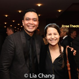 Jose Llana and Shaina Taub. Photo by Lia Chang