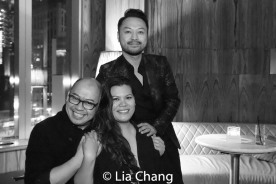 Broadway Barkada co-founders Brian Jose, Liz Casasola and Billy Bustamante. Photo by Lia Chang