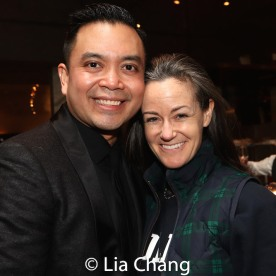 Jose Llana and music director Kimberly Grigsby. Photo by Lia Chang