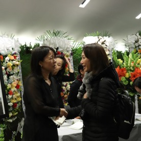 Kyung B. Yoon and Saeri Yoo Park. Photo by Lia Chang