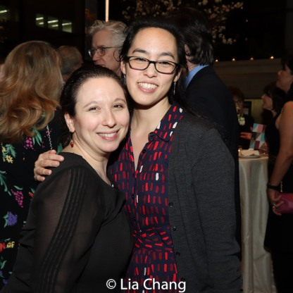 Abigail Katz and Lauren Yee. Photo by Lia Chang