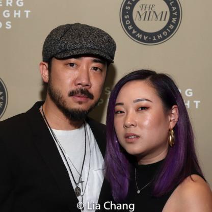 Abraham Kim and Pricilla Lang-Kim. Photo by Lia Chang