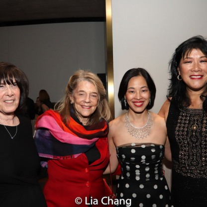 Carol Krumland, Frances Hill, Lia Chang and Nadine Wong. Photo by Garth Kravits