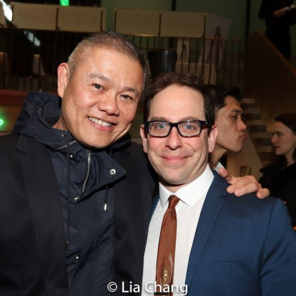 Chay Yew and Garth Kravits. Photo by Lia Chang