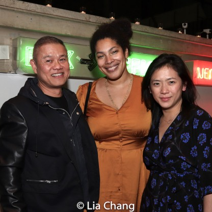 Chay Yew, Jackie Sibblies Drury, Meiyin Wang. Photo by Lia Chang
