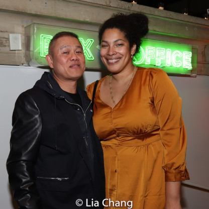 Chay Yew and Jackie Sibblies Drury. Photo by Lia Chang