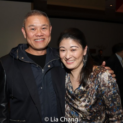 Chay Yew and Jennifer Lim. Photo by Lia Chang