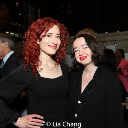 Christie Evangelisto and Lily Houghton. Photo by Lia Chang