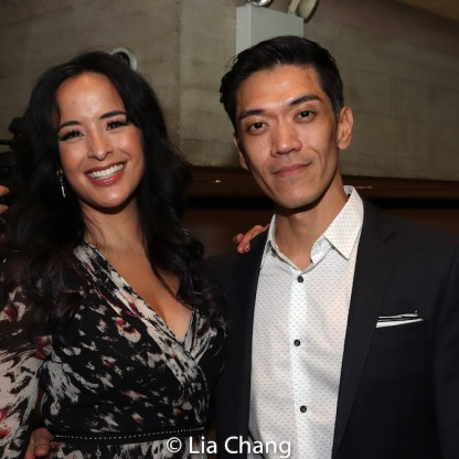 Courtney Reed and Moses Villarama. Photo by Lia Chang