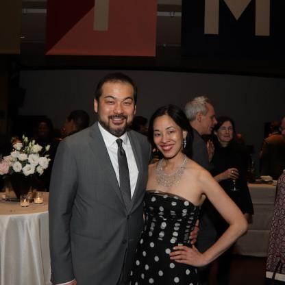 David Shih and Lia Chang. Photo by Garth Kravits