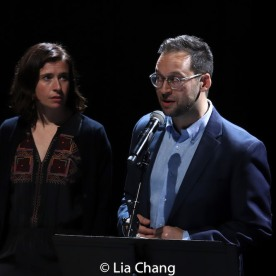 Hannah Cabell and Jed Resnick. Photo by Lia Chang