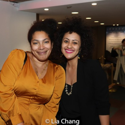 Jackie Sibblies Drury and Lileana Blain-Cruz. Photo by Lia Chang