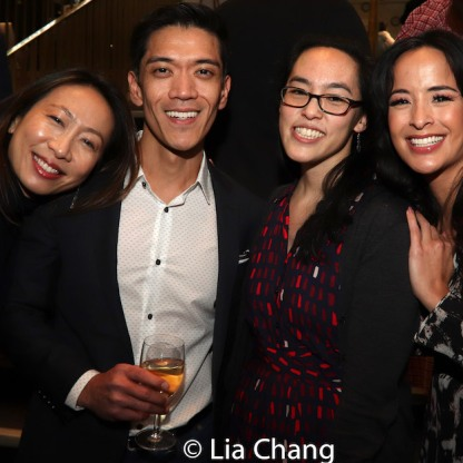 Jane Lui, Moses Villarama, Lauren Yee and Courtney Reed. Photo by Lia Chang