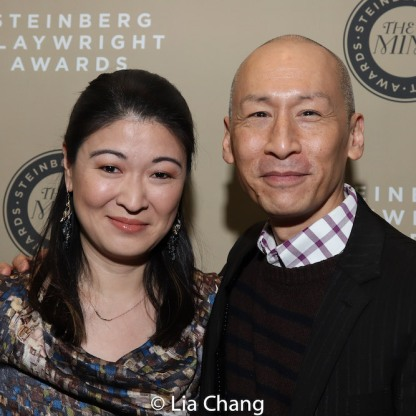 Jennifer Lim and Francis Jue. Photo by Lia Chang