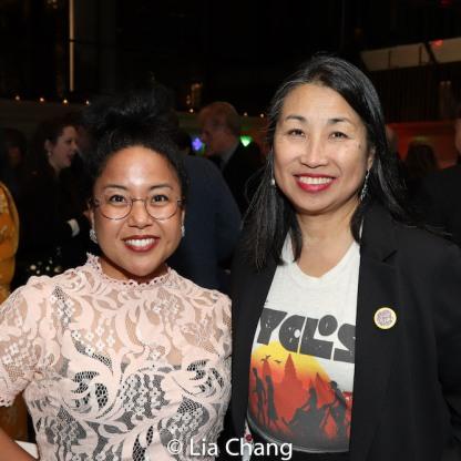Jesca Prudencio and Linda Chin Workman. Photo by Lia Chang