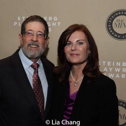 Jim Steinberg (Board of Trustees) and Lori Steinberg. Photo by Lia Chang