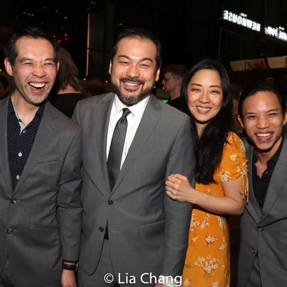 Joseph Ngo, David Shih, Cindy Im and Tony Aidan Vo. Photo by Lia Chang
