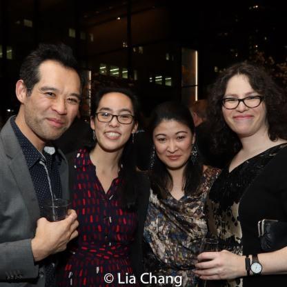 Joseph Ngo, Lauren Yee, Jennifer Lim and a guest. Photo by Lia Chang