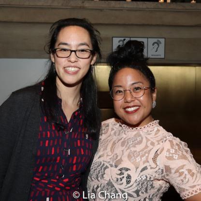 Lauren Yee and Jesca Prudencio. Photo by Lia Chang