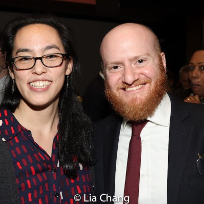 Lauren Yee and Joshua Kahan Brody. Photo by Lia Chang