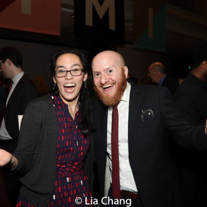Lauren Yee and Joshua Kahan Brody.Photo by Lia Chang
