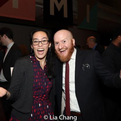 Lauren Yee and Joshua Kahan Brody.Photo by Lia Chang