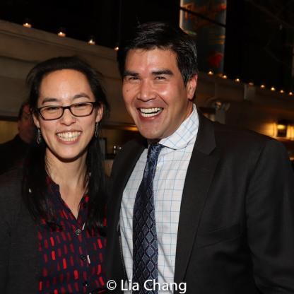Lauren Yee and Pun Bandhu. Photo by Lia Chang