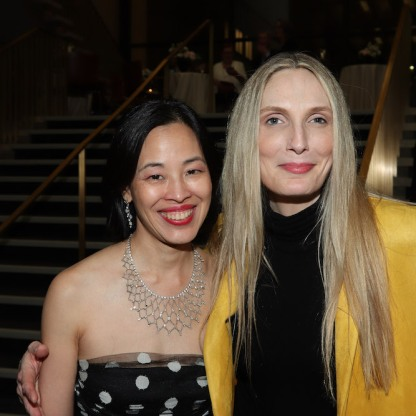 Lia Chang and Deborah Martin. Photo by Garth Kravits
