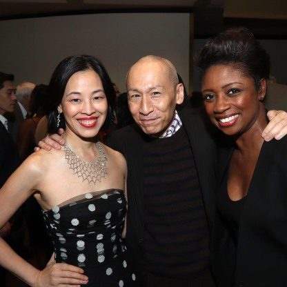 Lia Chang, Francis Jue and Montego Glover. Photo by Garth Kravits